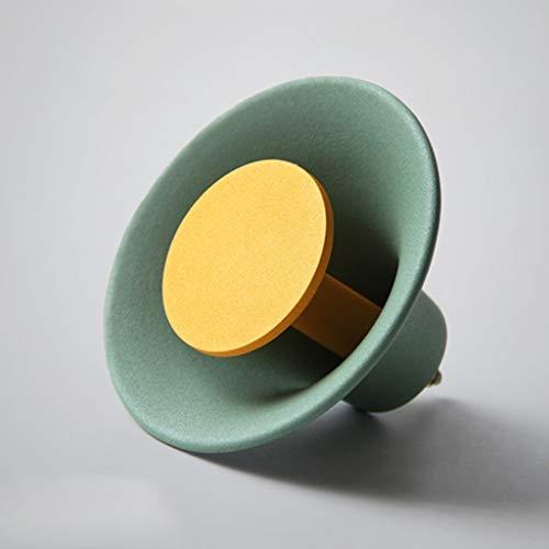 Ganchos para colgadores Gancho para decoración de pared Pasillo para gancho Perchero para decoración de hierro Creative Nordic (Color : B)
