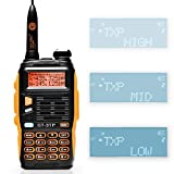 Baofeng GT-3TP Mark III Tri-Power - Walkie-talkie de doble banda UHF/VHF 2 m/70 cm, 8 W/4 W/1 W (GT-3TP)