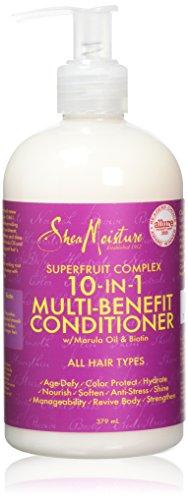 Acondicionador de sistema de renovación 10 en 1, 379 ml, de Shea Moisture Superfruit