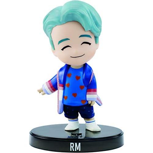Mattel - BTS Mini RM Bambola da 8 cm in Vinile, Giocattolo per Bambini 6+ Anni, GKH78