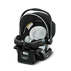 "SNUGRIDE PERFORMANCE: Infant car seat helps protect rear-facing infants 4-35 lb and up to 32"" LIGHTWEIGHT CARRIER: Lightweight infant car seat weighs only 7.2 lb, making it easy to carry baby from car to stroller 4-POSITION ADJUSTABLE BASE: Helps ens..."