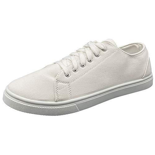 Lakeland Active Ambleside Zapatillas de Lona para Mujer - Blanco - 37