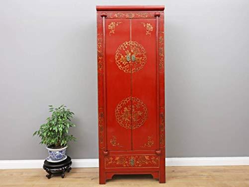 Yajutang Armario de boda con 2 puertas y 1 cajón pintado