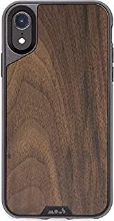 MOUS Protective iPhone XR Case - Real Walnut Wood - Screen Protector Inc.