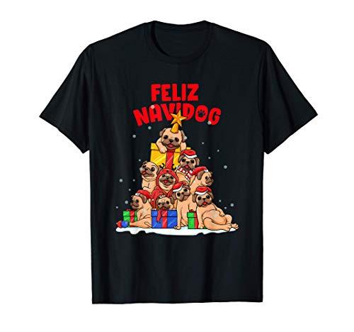 Feliz Navidog - Feliz Navidad para los amantes de los perros Camiseta