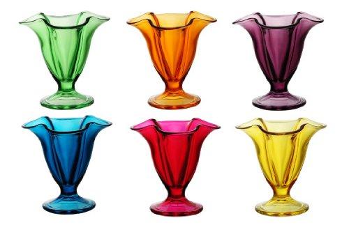 Viscio Trading Canada Copas Helado, Multicolor, 6Unidad