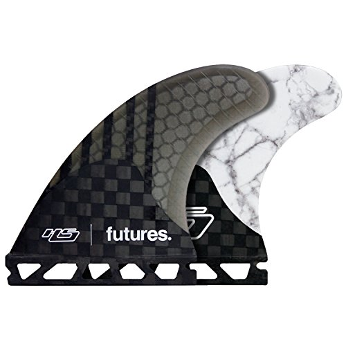 Futures HS2 Hayden Shapes Generation Series Tri Fin Set (White Marble, M)