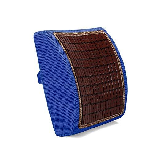 Yujiayi Chair Pad Pillow Seat Cushions Lumbar Support Pillow Back Cushion Memory Foam Cushion Ergonomic Back Support Pillow Best Lower Back Support Pillow Cushion Orthopedic Back Pillow Bamboo
