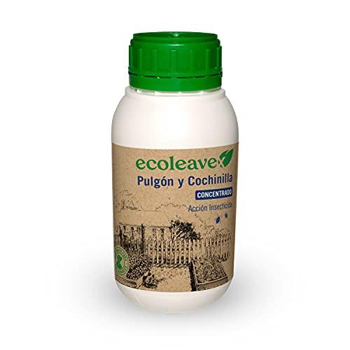 ECOLEAVEX Pulgón y Cochinilla. Acción Insecticida, ECOLOGICO, 100% Natural y Residuo Zero. con Abonos, Micronutrientes y Bioestimulantes. (Concentrado Mochila 15 LTS)