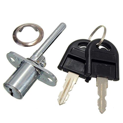 XZANTE in Lega di Zinco Computer Desk Cabinet Mailbox Cassetto Armadio Locker Cam Lock con Chiavi, Argento
