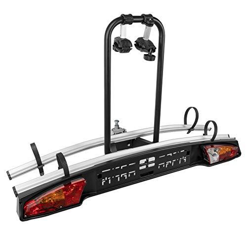 VDP Merak Standard 2 Fietsendrager voor 2 fietsen, fietsendrager voor trekhaak eBikes