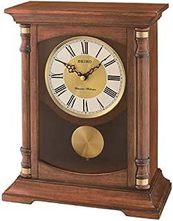 SEIKO Charming Chime Mantle Pendulum Clock, Brown