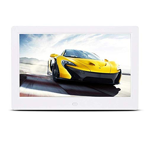 BHDYHM Digital Frame Narrow Side LED-scherm, 8 inch / 10 inch / 12 inch 15 4 inch ultrahoge resolutie elektronisch fotoalbum