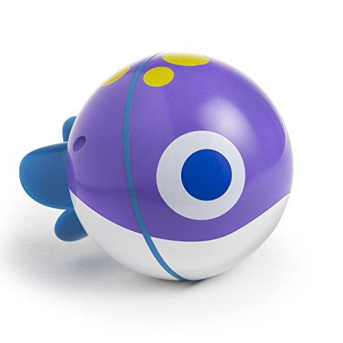 Munchkin Spinball Fish Bath Toy, Purple
