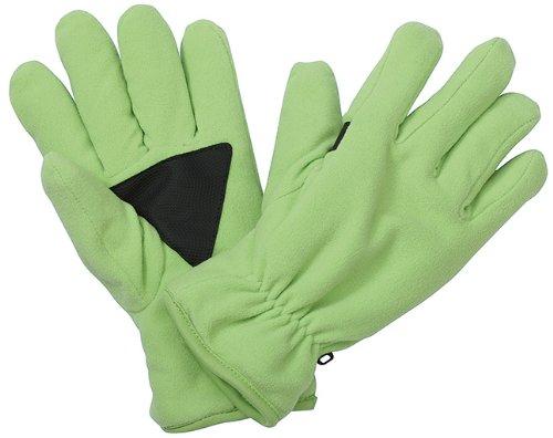 Myrtle Beach Gants en Polaire Thinsulate Unisexes Vert Vert L/XL