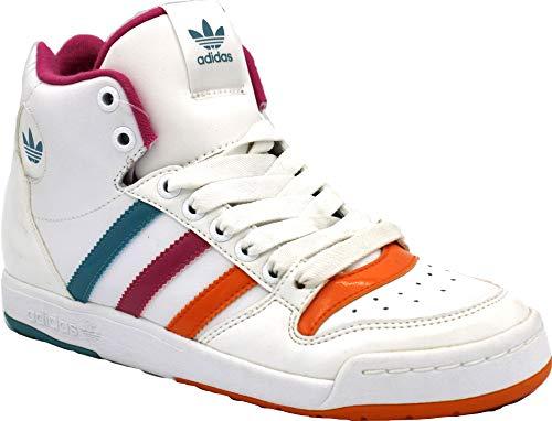 adidas Midiru Court Mid, Weiß - Wht Orcovn Cosmo - Größe: 40 2/3 EU