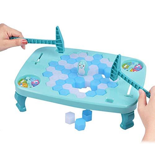 Pinguin Trap Tischspiel Desktop Spiel Balance Eiswürfel Speichern der Pinguin Eis brechen Interaktive Party-Spiel Familie Spiele für Kinder ab 3 Jahre