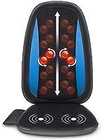 Comfier Shiatsu Back Massager with Heat - Deep Tissue Kneading Massage Seat Cushion, Massage Chair Pad for Full Back Pain...