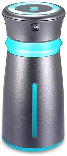 LONGWDS Humidificador Humidificador de difusor de automóvil, humidificador de neblina fresca de 100 ml, humidificadores portátiles USB con cargador rápido Auto-desactivado Auto-Off Difusor de aceite e