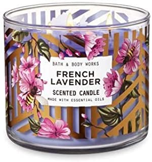 White Barn Bath & Body Works 3 Wick Candle French Lavender