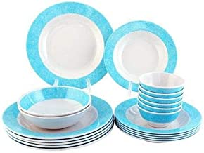 20 Pc Melamine Ware Dinner Set 1X6