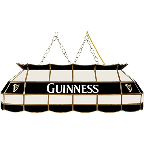 "Trademark Gameroom Guinness 40"" Handmade Tiffany Style Lamp"