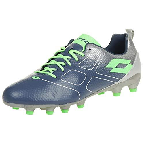 Lotto Mens Maestro 700 FG Soccer Shoe, Adult, Blue Citron/Mint, 7.5 M US