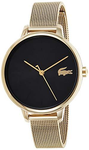 Lacoste Reloj Analógico para Mujer de Cuarzo con Correa en Acero Inoxidable 2001102