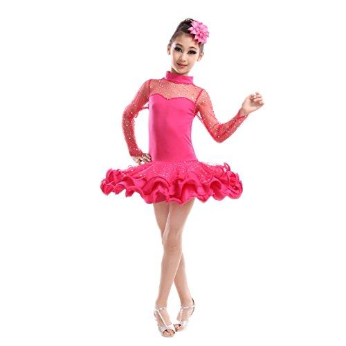 Yefree Vestido de Baile Latino de...