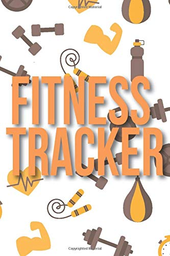 Fitness Tracker: A Fitness Exercising Workout Training Bodybuilding Cardio Crossfit Logbook Tracker Gift Journal for Women and Men