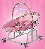 BOOSSONGKANG Chaise, Chaise, berçante Musique pépinière Enfant Jouet Chaise, berçante bébé Cheval à Bascule siège bébé transat balançoire Berceau inc