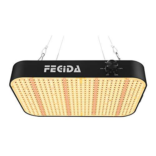 FECiDA LED Grow Light 1000W, la más Nueva Lámpara LED de Cultivo de Plantas 2021, luz de Crecimiento de Espectro Completo con LED de 588 Piezas y Función de Cadena de Margaritas