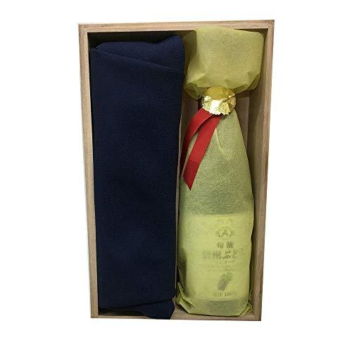 慶祝の木箱 金箔カステラ & 100%ストレートジュース祥鳳?(しょうほう) syoho-KR(金箔抹茶カステラーナイアガラ)