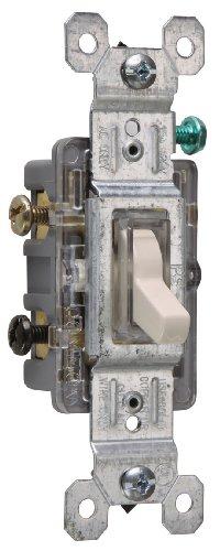 legrand-pass & Seymour 663gcc12tres Pole Toggle Interruptor AC 15-Amp 120-volt tierra terminales