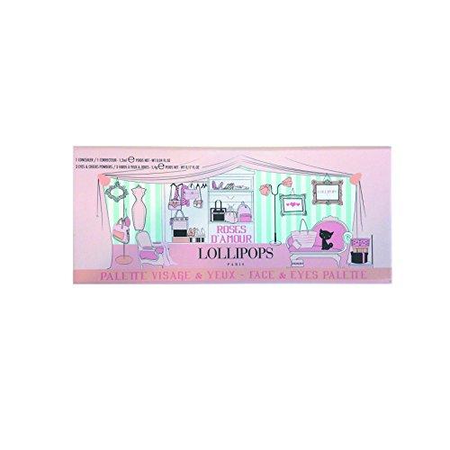 Lollipops Palette Roses d'Amour Visage Teint & Yeux