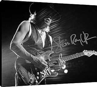 Stevie Ray Vaughan Autograph Replica Print Canvas Wall Art (20x24)