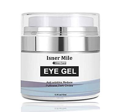 AJUMKER Eye Gel Cream Anti-Aging Oil-Free Formula Eye Cream for Dark Circles Wrinkles Puffiness Moisturizing Eye Cream Hyaluronic Acid Gel by Ajumker