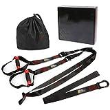 Zylxnt Cinturón de tensión Cinturón de Entrenamiento de suspensión Cinturón de tensión Ajustable Cinturón de Entrenamiento de suspensión Equipo de Entrenamiento de Yoga Banda de Resistencia
