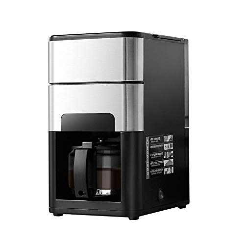 Professional Espresso Drip coffee maker, coffee maker Filter Coffee Machine freestanding Semi-auto Vermogen 1000 watt, inhoud 1,25 liter, pompdruk 19 bar