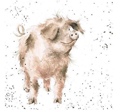 Wrendale Designs Schwein Bild