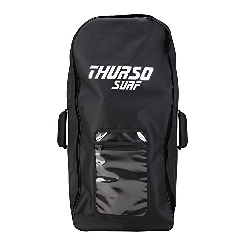 THURSO SURF Inflatable Paddle Board Carrying Bag SUP Backpack Fits Any iSUP Up to 12'6 and Accessories Durable Comfortable Convenient