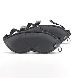 Lewis N Clark 505blkx2 2 Pack Eye Mask with Adjustable Strap, Black (B000LY3X7W) | Amazon price tracker / tracking, Amazon price history charts, Amazon price watches, Amazon price drop alerts