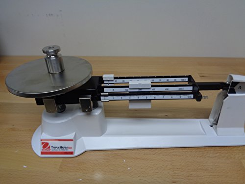 Ohaus Triple Beam Mechanical Balance, with Tare, 610g Capacity, 0.1g Readability