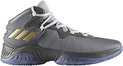 adidas Explosive Bounce, Zapatillas de Baloncesto Unisex Adulto, (Gricua/Dormet/Gridos), 46 2/3 EU