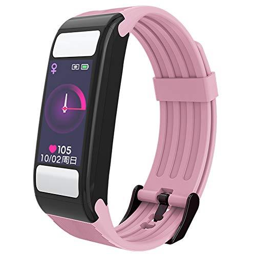 ahanzhu reloj inteligente medidor de composición corporal medidor de grasa corporal medidor de actividad medidor de ritmo cardíaco podómetro medición de bmi rastreador de ejercicios