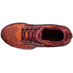 Mizuno Men's Creation WAVEKNIT 2 Running Shoe, Tang Tango-Tawny Port, 9.5
