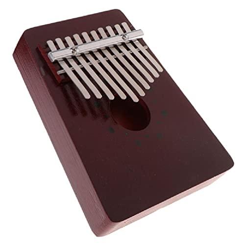 10 teclas Kalimba Mbira, piano pulgar tradicional, instrumen