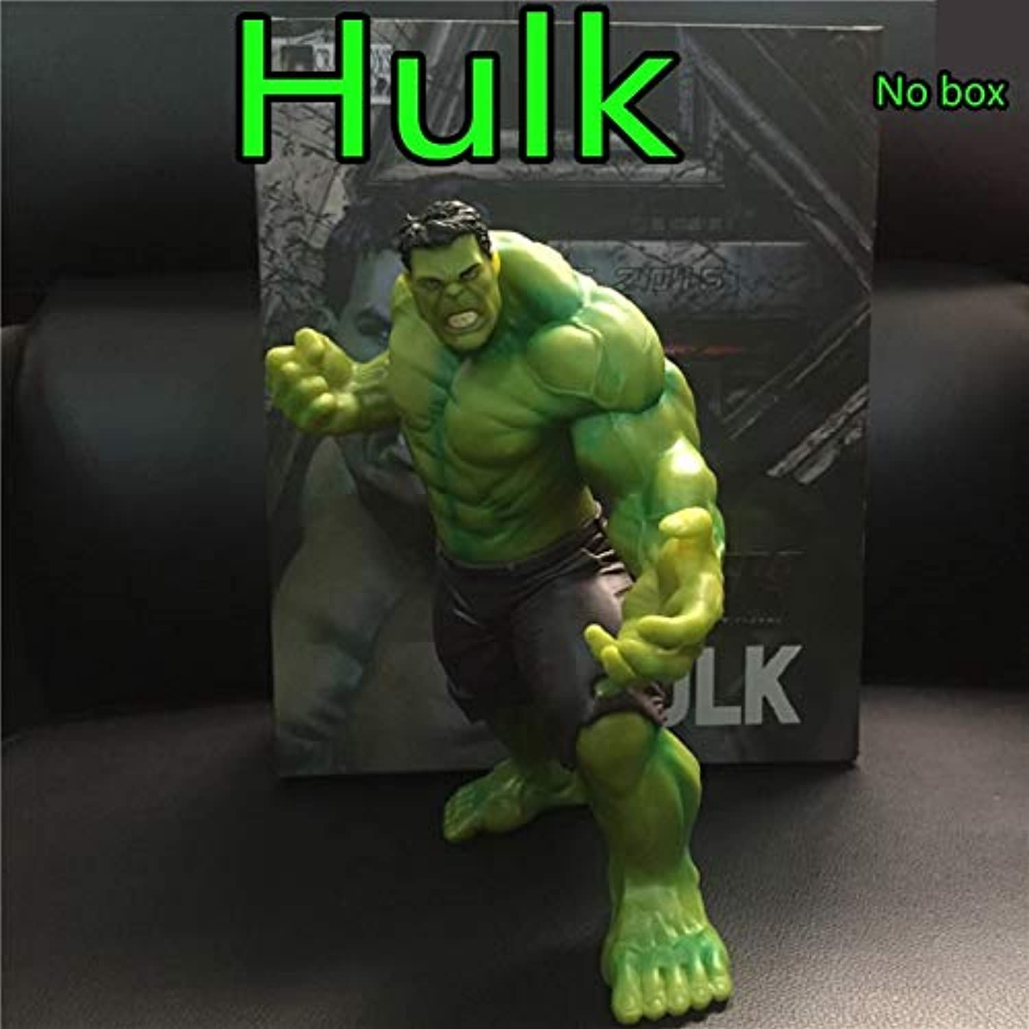 1 Pc 20 cm The Hulk PVC Action Figure Toy Anime Marvel's The Avengers Hulk Display Model Collection Toys Birthday 12 Action Figures for Boys