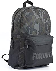 Black Fortnite Backpack. Makes a great gift for a student gamer who loves to play Fortnite.