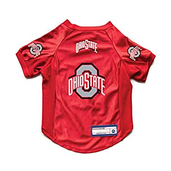 NCAA Ohio State Buckeyes Pet Stretch Jersey X-Large  120156-OHSU-XL